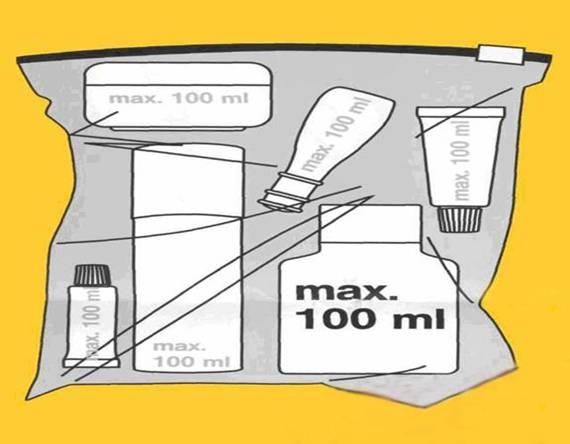 Правила провоза ручной клади в самолёте