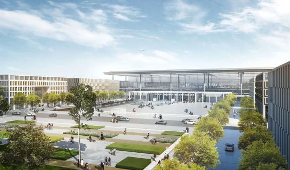 Новый аэропорт Берлина откроется в июне 2012