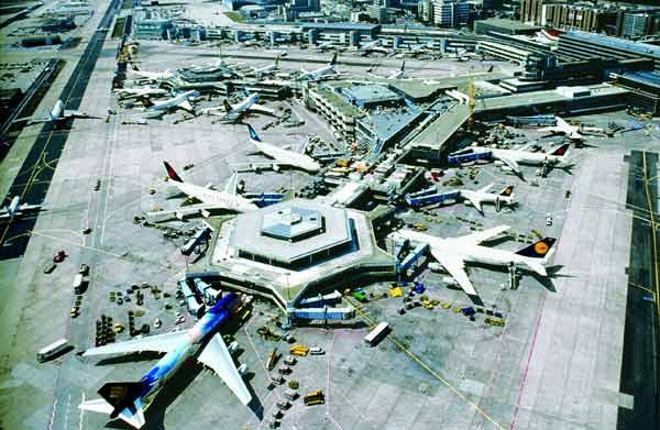 Суд запретил ночные рейсы в аэропорту Франкфурта-на-Майне